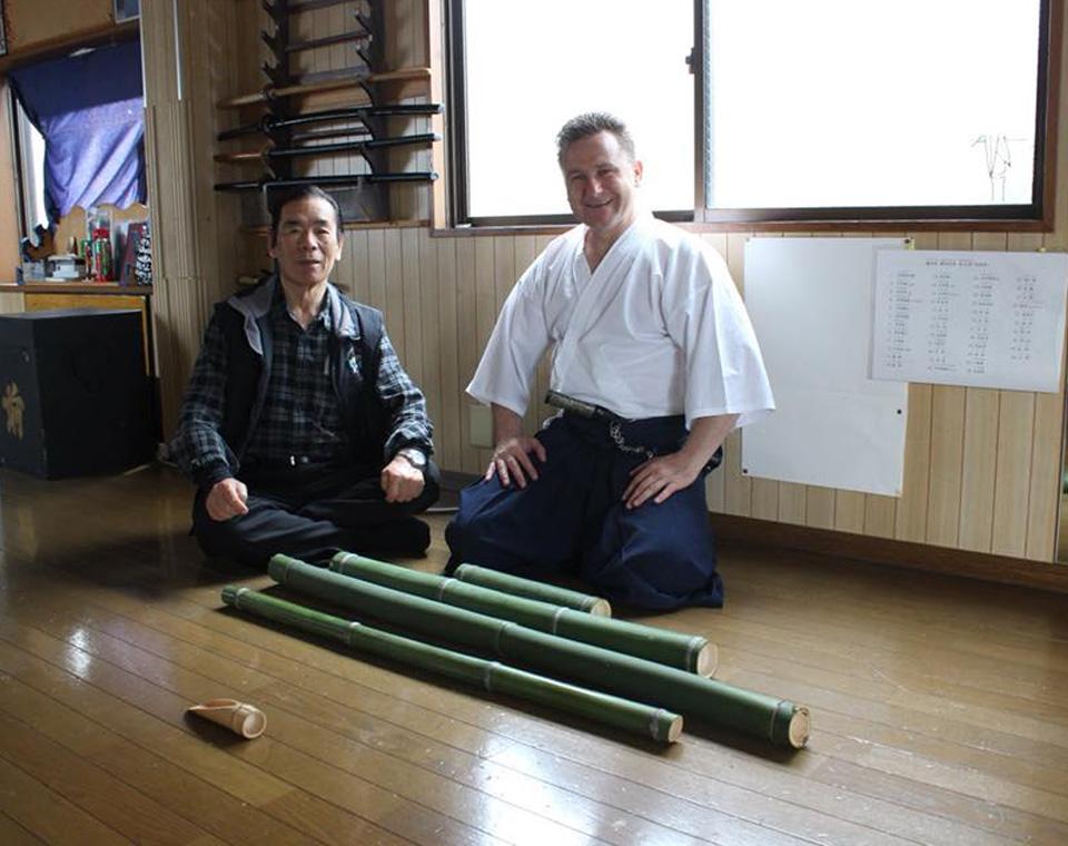 SoShiSoke George Chivaran si Soke Fumon Tanaka